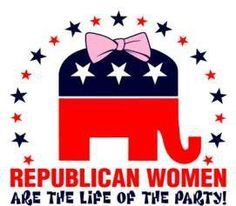 Republican Women, are the life of the party!