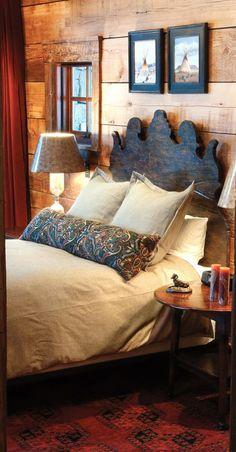 Rustic Bedroom Lohss Construction