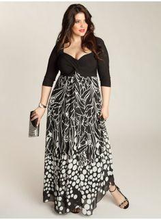Janet Plus Size Maxi Dress