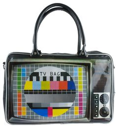 Wanted TV Print Weekend Bag---Show off your old school style with this bag from Wanted. This weekend bag is sporting a retro TV print complete with a test pattern. Capacious weekend bag size features large handles for convenient carrying. The Wanted collection consists of a wide range of products for all people who are young at heart.  List Price: $57.99 Price: $56.59