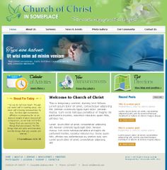 Church Website Layout/Template #websitedesign #layout #webdesign #template #avocadosoft #churchwebsitedesign
