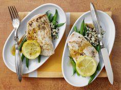 Zitronenschnitzel - mit Wildreis und grünen Bohnen - smarter - Kalorien: 426 Kcal - Zeit: 30 Min. | eatsmarter.de