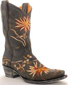Cowboy Boots ... Womens Old Gringo Ellie Boots Black.
