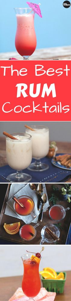 If you want to spice up your next party or dinner event just add a splash of rum! Whether you're looking for something simple and easy or a drink that's a little more rounded, we've got your next favorite cocktail right here.   MyRecipes