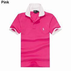 77a06cbaa926e Polo Ralph Lauren Men Custom Fit Short Sleeve Pony Shirt Pink