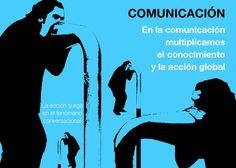 El poder de las conversaciones y la comunicación como herramienta para compartir y crear conocimiento.     La comunicación multiplica. ¡Hablemos de cambio climático! ¡Llevemos la cuestión ambiental a nuestro entorno!    Una creación de inexsos.