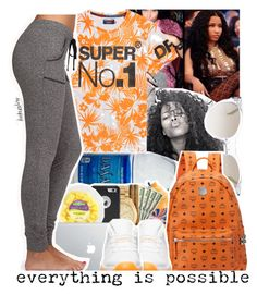 """Description"" by leah143love ❤ liked on Polyvore featuring Superdry, Elie Tahari, MCM, Forever 21 and masterpiece"
