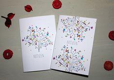 Florales Notizheft-Set von Irina Mmurs Things