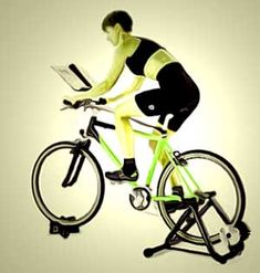 Cycleops Fluid2 Bike Trainer With Training Kit Black Bike