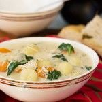 Crockpot chicken gnocchi soup (Olive Garden copycat)