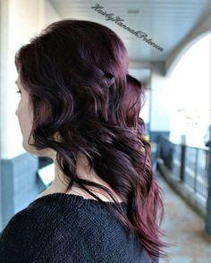 This dark plum is life right now #theblondesalon #hairbyhannahpeterson #cullmanhair #cullmanal #cullman #cullmanhairstylist #alabamahairstylist #cullmanalabamahairstylist #yourlocalhairstylist #redken #redkenobsessed #matrix #bondultim8 #daretohair #americansalon #modernsalon #stylistsupportstylist #behindthechair #heystyleplum #cosmetology #cosmetologist #hair #haircolor #color #plum #darkplum #violet #purple #purplehair #plumhair