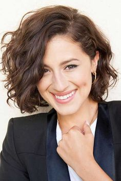 Short Curly Bob Hairstyles Delectable Beautiful Short Bob Hairstyles And Haircuts With Bangs  Pinterest