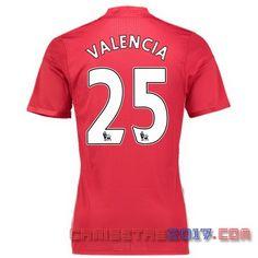 camiseta VALENCIA Manchester United 2016 2017 primera