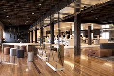 Historic woolstore converted into award winning office by Those Architects and End of Work.