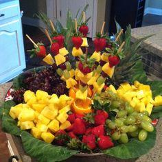 Pretty Fruit Tray