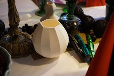Thomas vases for the Christmas table - printed PLA