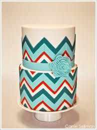 chevron cupcakes | The Chevron Pattern…it's everywhere! Cakes, cookies, cupcakes ...