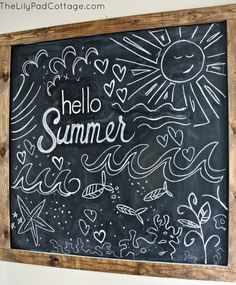 summer chalk - Recherche Google