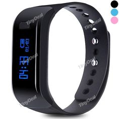 Moving Up Smart Bracelet with Display Call Reminder Alarm Pedometer Mileage Calorie Sleep Remote Monitor E-494645