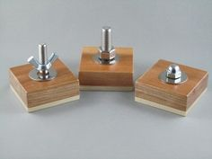 Montessori Toddler Bolt Set of Three Acorn Nut Wingnut | eBay
