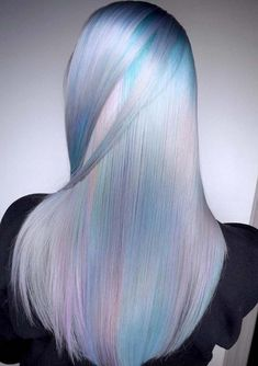 42 Pretty Pastel Blue Hair Color Ideas for 2018