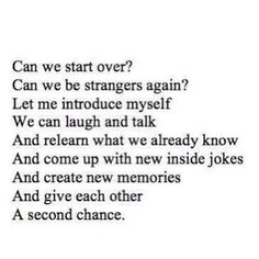 because people like us don't end up together every day