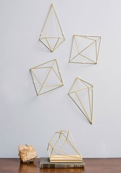 Abode Well Wall Decor, #ModCloth  I love 3d weird wire sculptures. Specially when I can customize