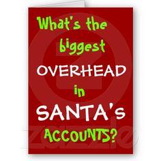 Accountant Christmas Card - Joke - Personalisable