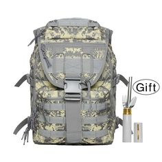 Backpack for Camping, Kollerpek Waterproof Outdoor Camping Backpack for Hiking   Free Dinning Tool *** Quickly view this special product, click the image : Backpacking bags