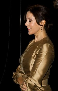 Crown Princess Mary attended a concert and dinner for entrepreneurs in Denmark