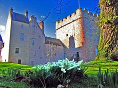 Drum Castle by Alan Findlay - near to Hardgate, Aberdeenshire, Great Britain