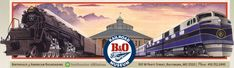 The B&O Railroad Museum brings alive the magic and adventure of railroading every day! This historic national landmark allows you to see, touch, hear and explore the most important railroad collection in America. Start your journey with a visit today!
