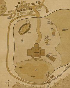 Hogwarts Map by airealataiel on DeviantArt Harry Potter More, Harry Potter Stories, Harry Potter Hogwarts, Hogwarts Minecraft, Map Minecraft, Castle Floor Plan, Non Plus Ultra, Mischief Managed, Vintage World Maps
