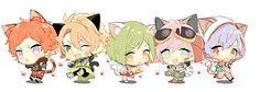 Anime Chibi, Manga Anime, Anime Art, Chibi Characters, Disney Characters, Fictional Characters, Anime Group, Usui, Vocaloid
