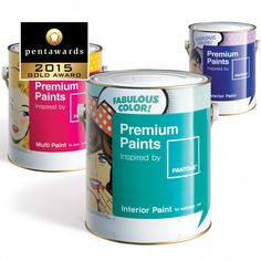 Pentawards 2015 winner, Brand: Noroo - Pantone Premium Paint, Entrant: Brandchef