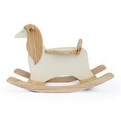 Antique Alive Toy Handmade Wooden Ride On Rocking Dog Afghan Hound Animal Design Rocker Handmade Toys, Handmade Wooden, Wood Rocking Horse, Wood Floor Lamp, Hanging Paintings, Afghan Hound, Wood Detail, Ride On Toys, Animal Design