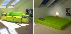 Space saving furnitures
