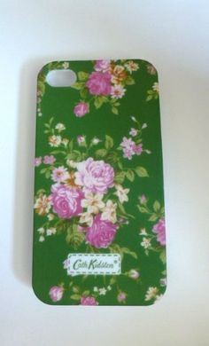 Cath Kidston Green Flowers iPhone case