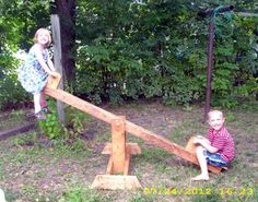make a Seesaw! | Do It Yourself Home Projects from Ana White #plans