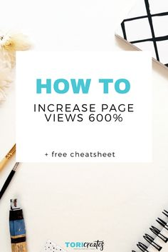 Learn how I was able to increase page views by 600% in my second month blogging. I reveal the tools I used, the strategies I took to increase page views.