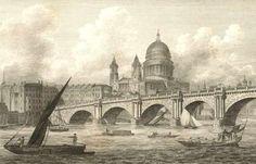 Blackfriars Bridge-Where the smooth waters glide