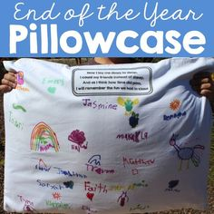End of Year Pillowca