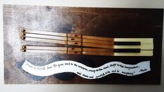Recycled Piano Keys Wall Art by martahansen on Etsy, $35.00  Upcycled Piano by The Piano Gal Shop http://thepianogalshop.com