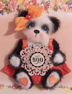 """panda tear bear """"Boo"""""""