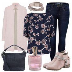 Rosengarten Damen Outfit - Komplettes Freizeit Outfit günstig kaufen    FrauenOutfits.de Mode Über 40 c5bded2514