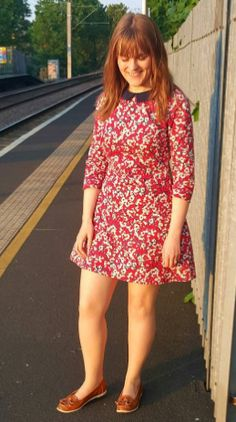 Sasha's Francoise dress - sewing pattern by Tilly and the Buttons