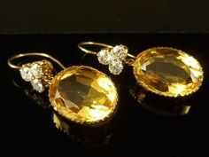 ANTIQUE VICTORIAN CITRINE