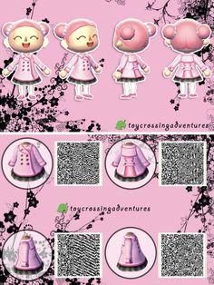 Pink Coat. Je vous conseille vraiment cette petite et mignonne robe sur acnl .