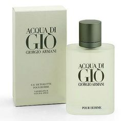 Acqua di Gio`- the best ever. my husband favorite and only one. yummm the smell of it