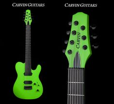 Win a Seven-String Carvin Guitars TL70H Model in Kiesel Racing Green! | Guitar World